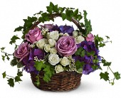 Ivy Garden BAsket Funeral