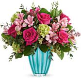 Teleflora's Enchanted Spring Bouquet DX T21E100