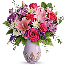 T21M100A Teleflora's Lavishly Lavender Bouquet