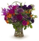TA-9- Tropical flowers in a vase Flowers and colors may vary