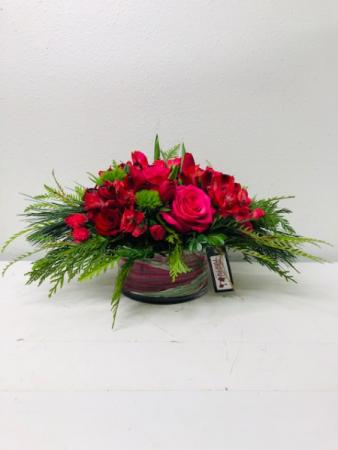 Table Centerpiece Fresh Cut Flowers