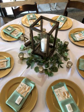 Table Greenery Decor