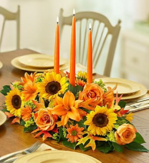 Table of Thanks  Thanksgiving in Whittier, CA | Rosemantico Flowers