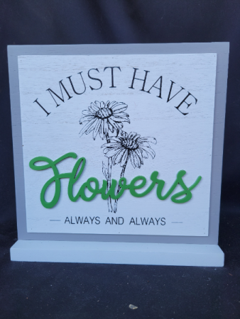 Table Sign Sign