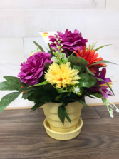 Table top  Silk arrangement