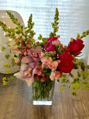 Take me away Vase arrangement