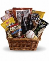 Take Me Out To The Ball Game Basket Gift Basket