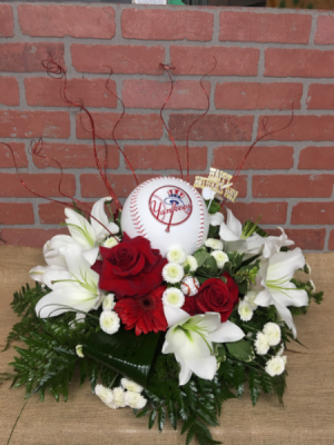 Take me out to the ball game !!! yankee fan in Ozone Park, NY | Heavenly Florist