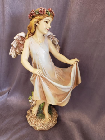 "TALL 19"" X 9 RESIN ANGEL"