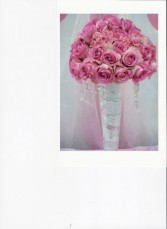 Elegant Roses and Carnations Table Scape