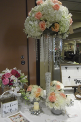 Tall and surrounding Centerpieces