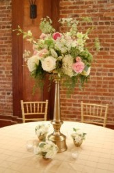Tall Centerpiece Reception Decor