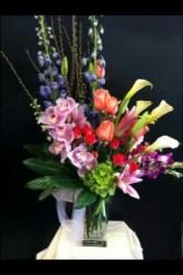 Tall floral mixed arrangement