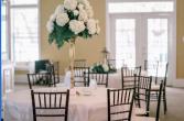Tall Hydrangea Centerpiece  Wedding