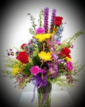 Tall Mixed Vase Vase