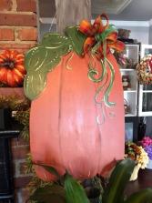 Tall Pumpkin Door Hanger