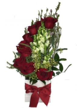 Tall Rose Box box