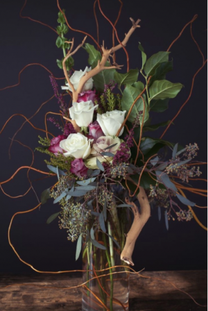 Tall Unique Arrangement   in Muscle Shoals, AL | Sunflowers Designs & Garden