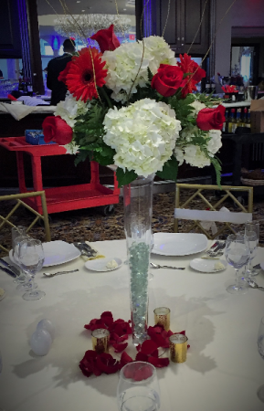 Tall Wedding Centerpiece Table Centerpiece In Darien Ct Darien