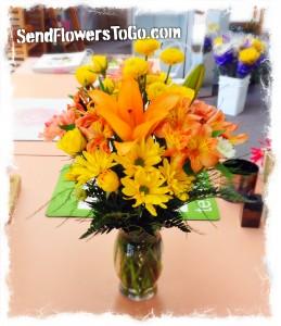 Tangerine Dreams Bouquet