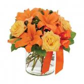 Tangerine Tango Surprise Arrangement