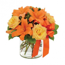 Tangerine Tango Surprise Arrangement