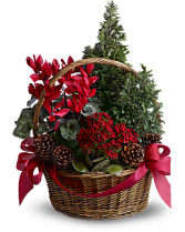 Tannenbaum Basket Christmas