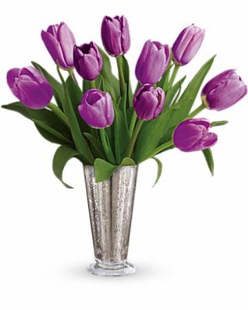"""Tantalizing Tulips Tev23-8 13""""(w) x 14.5""""(h)"""