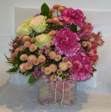 TAPESTRY CUBE Floral Arrangement
