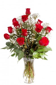 Tara's Traditional Dozen Roses Bouquet