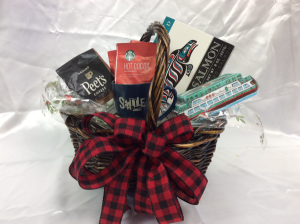 Taste of the North West Edible Gift Basket in Marysville, WA | What's Bloomin' Now Floral