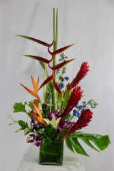Taste of the Tropics Vase arrangement