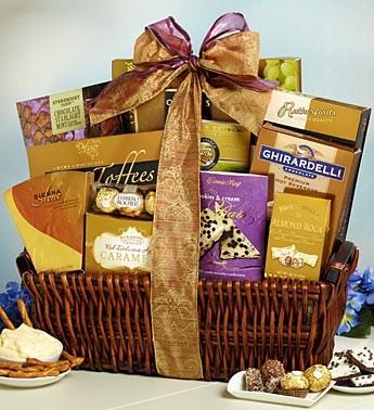 Tasteful expressions Gift Basket Gourmet Gift Basket