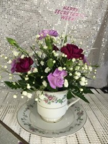 Tea Cup Bouquet all occasion