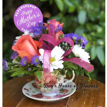 Tea Cup-SOLD OUT Mother's Day