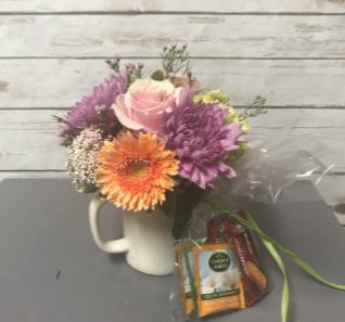 Tea Cup of Love Arrangement