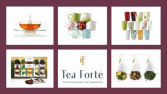 TEA FORTE Flavored Teas and Accessories