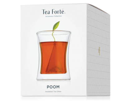 Tea Forte POOM Insulated Tea Glass