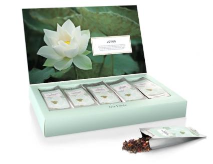 Tea Forte Single Steeps Lotus - 15 pouches