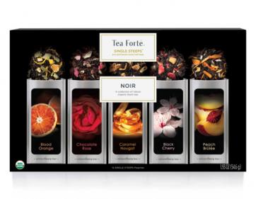 Tea Forte Single Steeps Noir - 15 Pouches