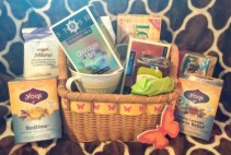 Tea Lovers Basket Gift Basket