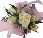 The Shimmer C11-5 Rose Corsage