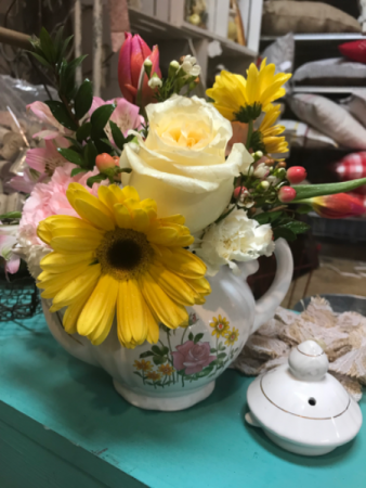 Tea Time  Fresh Floral