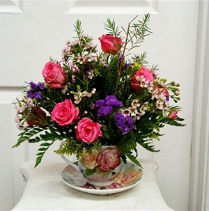 Tea Time - Roses Everyday  in Mount Pleasant, TX | DESIGNS BY LISA
