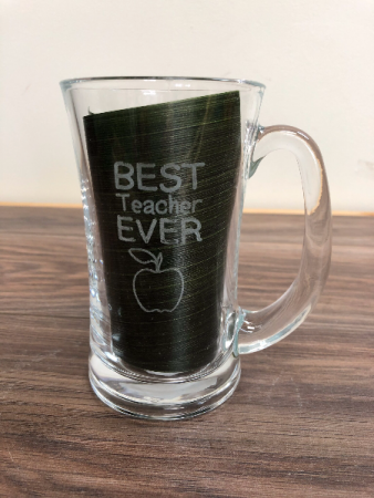 Teacher coffee mug Engraved especially for you