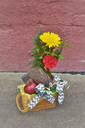 Teacher's Pet Basket design