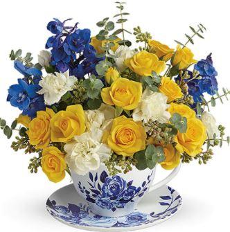 Teacup Fresh Floral
