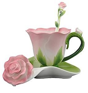 Teacup Set w Fresh Flowers Arrangement $50.95 $55.95