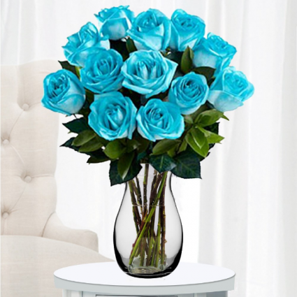 Teal Roses CALL FOR FREE DELIVERY *SOLD OUT*