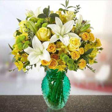Teal Splendor Bouquet